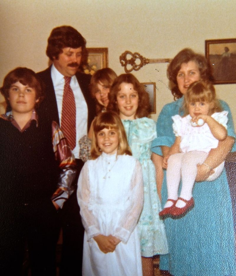 Smith family karens first communion